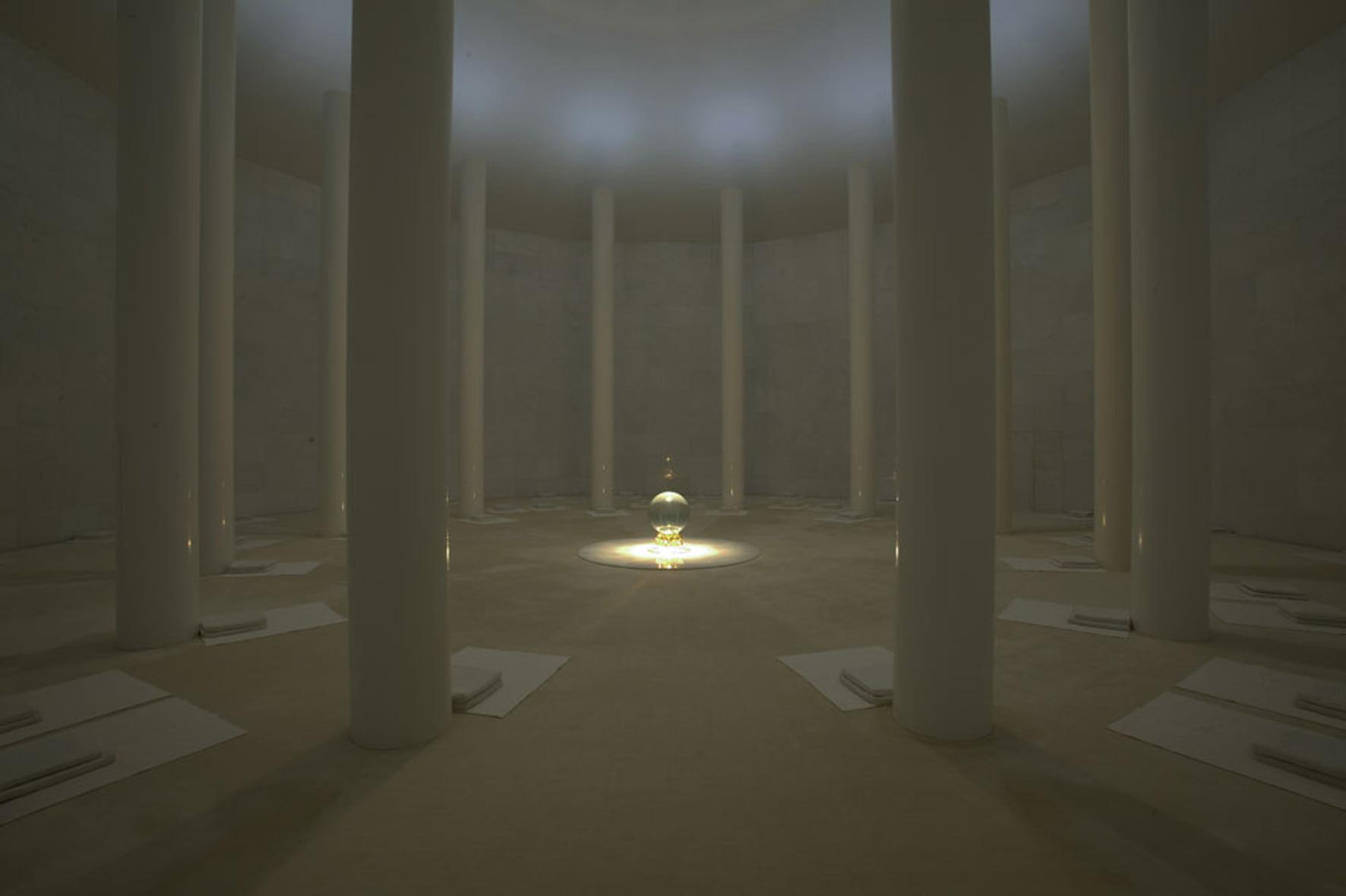 Медитационный зал в Матримандире