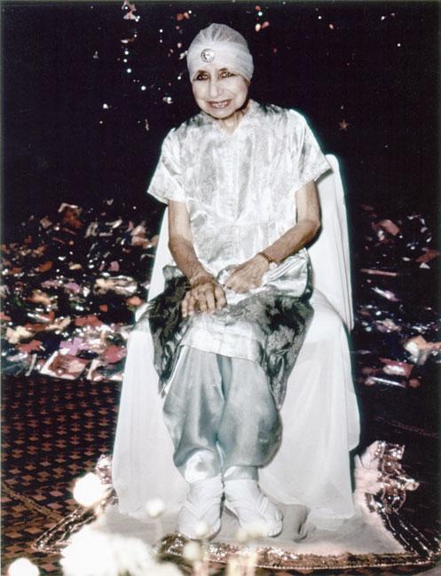Мать. Празднование Рождества в Ашраме Шри Ауробиндо
