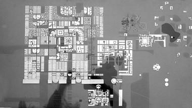 История Ауровиля: Первая прямоугольная модель Ауровиля, которая была отклонена Матерью в 1966 году