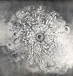 История Ауровиля: Модель Ауровиля «Туманность», одобренная Матерью в 1966
